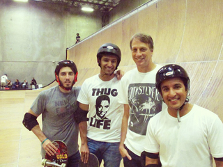 A Private Lesson With Tony Hawk