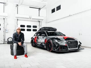 Jon Olsson's Audi RS6 DTM