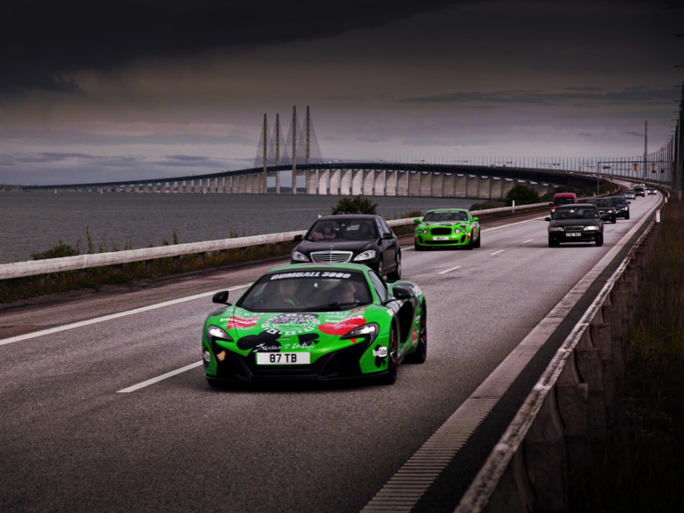Gumball 3000 Arrives Into Copenhagen