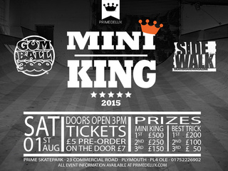 Gumball 3000 Presents Prime Skatepark Mini King Contest